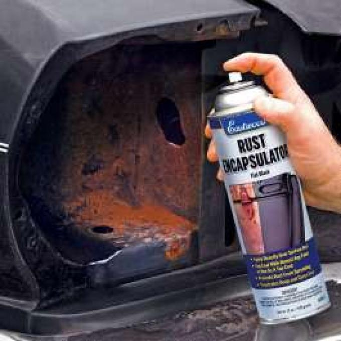 Rust Encapsulator Black Aerosol Paint, 16oz