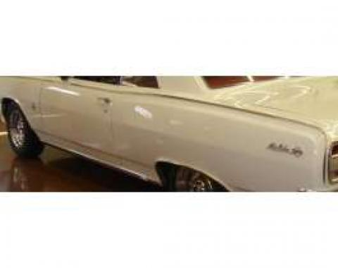 Chevelle Body Side Molding Kit, Side, Super Sport, 2-Door Coupe & Convertible, 1964