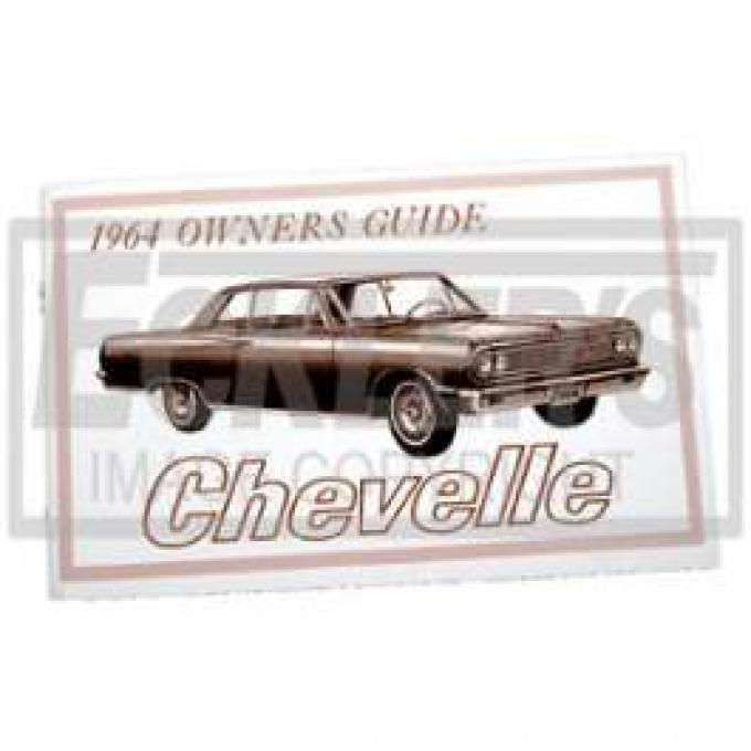 Chevelle Owner's Manual, 1964