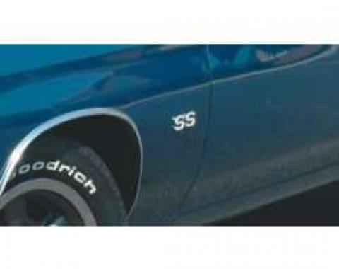 Chevelle Fender Emblems, SS, 1969-1972