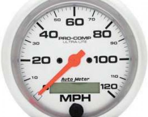 Chevelle Speedometer, Electric, 120 MPH, Ultra-Lite Series, AutoMeter, 1964-1972