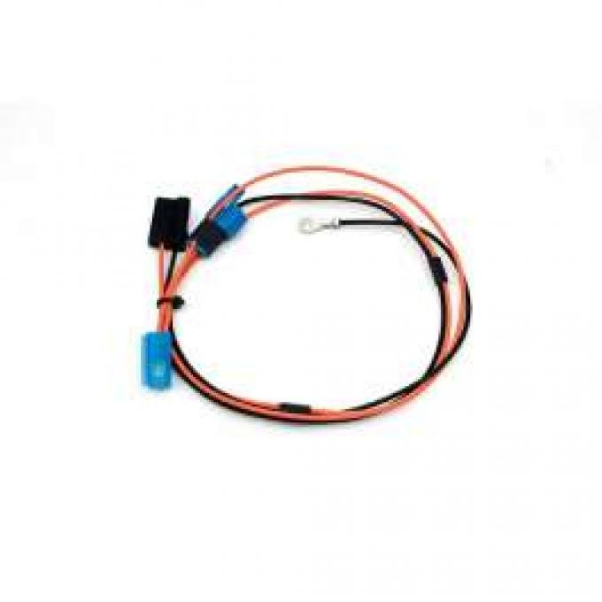 Chevelle Clock Wiring Harness, Dash Mounted, For All Cars Except Super Sport, 1970-1972