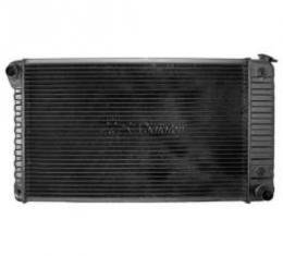 Chevelle Radiator, Big Block, 4-Row, For Cars With Manual Transmission & Without Air Conditioning, Desert Cooler, U.S. Radiator, 1968-1971