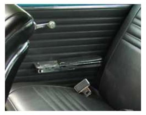 PUI 1967 Chevrolet Chevelle Gold Edition Standard Rear Door Panels, Coupe 67CHDOC