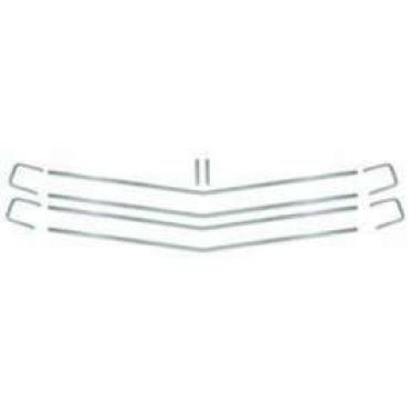 Chevelle Grille Moldings, Super Sport (SS), Show Quality Reproduction, 1970
