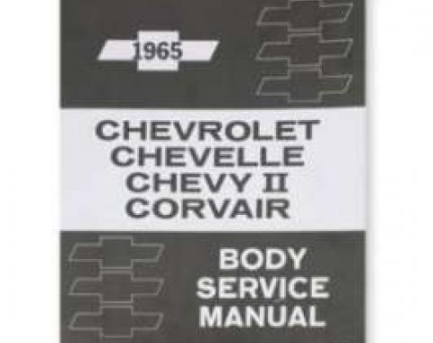 Chevelle Literature, Body By Fisher Manual, 1965