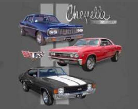 Chevelle T-Shirt, Three Chevelles