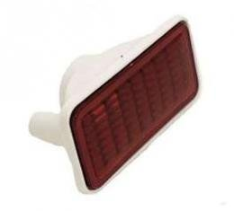 Chevelle Side Marker Light Lens Assembly, Rear, Red, Wagon,1968