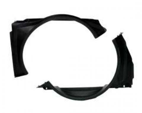 Chevelle Fan Shroud, Big Block, 2-Piece, For Cars With Air Conditioning Or Heavy-Duty Radiator, 1971-1975