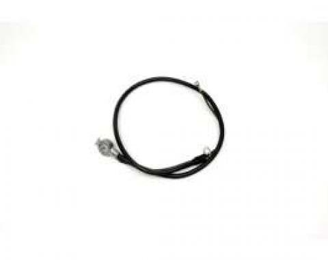 Chevelle Battery Cable, Spring Ring, Positive, 6 Cylinder, 1967