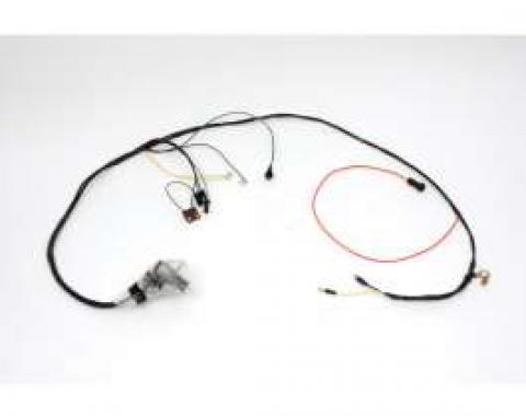 Chevelle Engine Wiring Harness, Small Block, For Cars With Factory Gauges, 1969