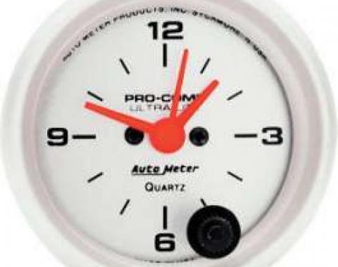 Chevelle Clock, Ultra-Lite Series, Autometer, 1964-1972
