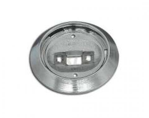 Chevelle Dome Light Base, Chrome, For All Cars Except Convertible, 1971-1983