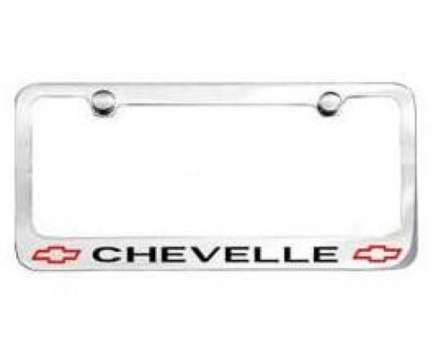 Chevelle License Plate Frame, 1966-1967