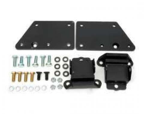 Chevelle Motor Mount Conversion Brackets, Small Block To LS1, LS2 Or LS6, 1964-1972