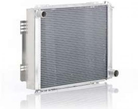 Chevelle Radiator, Small Block, For Cars With Manual Transmission, Eliminator, Be Cool, 1964-1965