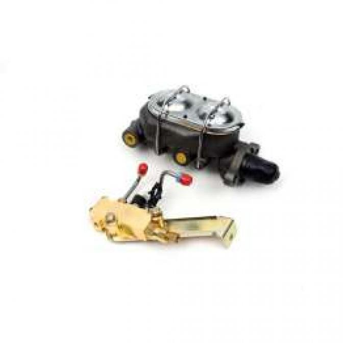 Chevelle Master Cylinder & Proportioning Valve Kit, Manual With Disc & Drum,1964-1972