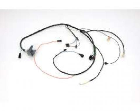 Chevelle Engine Wiring Harness, 6 Cylinder, For Cars With Manual Transmission, 1971
