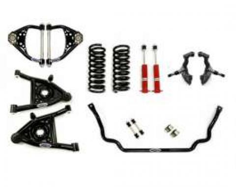 Chevelle Front Suspension, Speed Kit 1, Small Block And LS Motors, Detroit Speed (DSE), 1964-1966