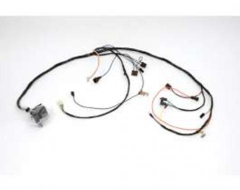 Chevelle Engine Wiring Harness, Small Block, For Cars With Manual Transmission, 1971