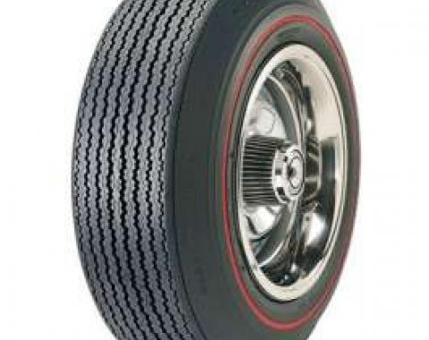 Chevelle Tire, F70/14 Red Line, Goodyear Speedway Wide Tread Bias Ply, 1967-1968