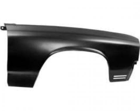 Chevelle Front Fender, Right, Wagon, 1970