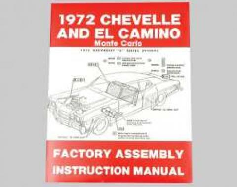 Chevelle Assembly Manual, 1972