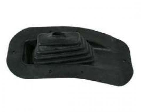 Chevelle Floor Shift Boot, 4-Speed Transmission, For Cars With Center Console, 1968-1972