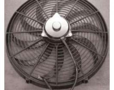 Chevelle Electric Cooling Fan, 16, 1964-1972