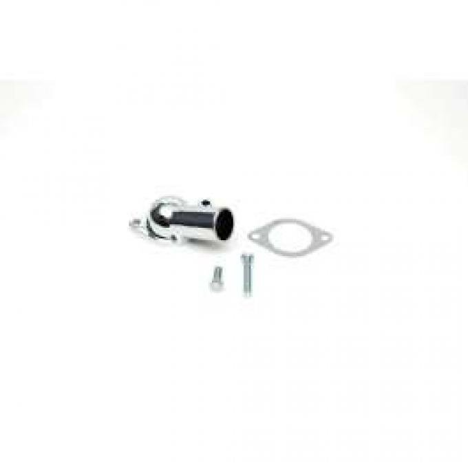 Chevelle Thermostat Housing, Chrome, With Gasket, 1966-1972