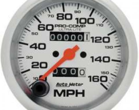 Chevelle Speedometer, Electric, 160 MPH, Ultra-Lite Series, AutoMeter, 1964-1972