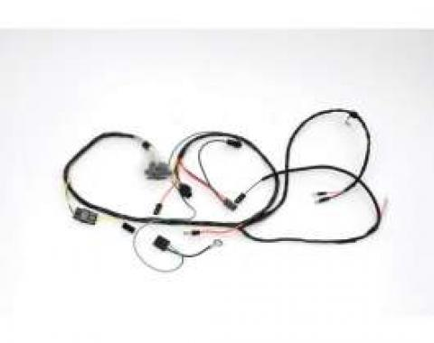 Chevelle Engine Wiring Harness, 327/350hp L79, For Cars With Factory Gauges & Air Conditioning, 1966