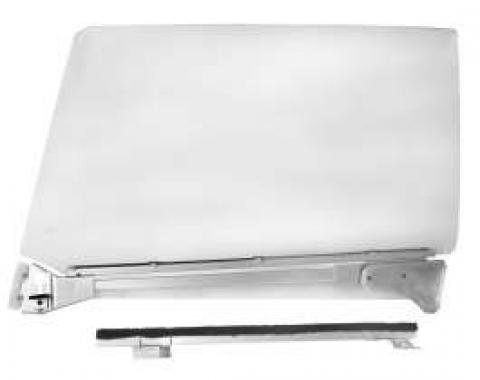 Chevelle Door Glass Assembly, Clear, Right, 2-Door Coupe, 1967