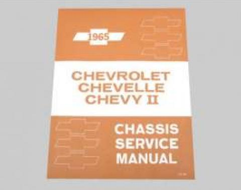 Chevelle Shop Manual, 1965