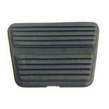 Chevelle Brake Or Clutch Pedal Pad, For Cars With Manual Transmission And Drum Brakes, 1964-1972