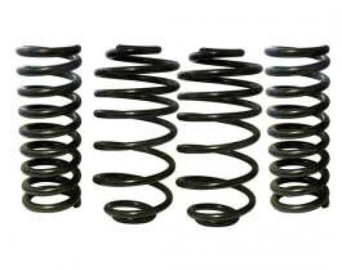 Chevelle Spring Set, Lowered, 1.3 Drop, Front & Rear, Eibach, 1967-1972