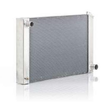 Chevelle Radiator, Small Block Or Big Block, For Cars With Manual Transmission & Without Air Conditioning, Eliminator, Be Cool, 1968-1972