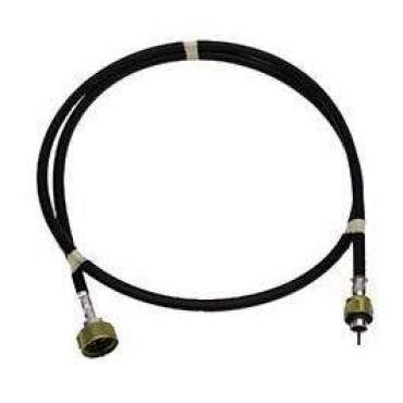Malibu Speedometer Cable, With Gear Adaptor And Cruise Control, Lower Cable, 56-1/8 Inches, 1982-1983