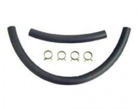 Chevelle Fuel Hose Kit, Fuel Sender To Frame & Frame To Fuel Pump, 3/8, For Cars Without Vapor Return System, 1966-1970