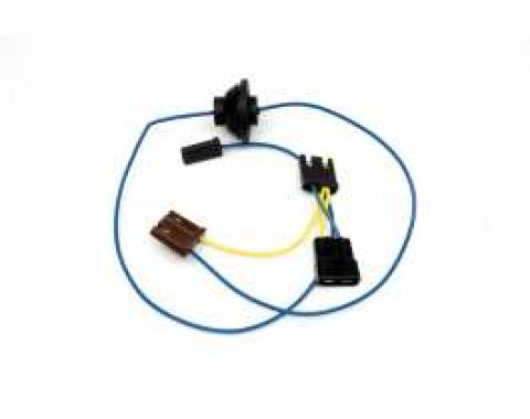 Chevelle Windshield Wiper Motor Wiring Harness, Single-Speed, With Washer, 1965