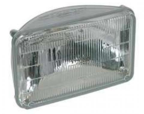 Malibu Sealed Beam Headlight, Low Beam, 1982-1983
