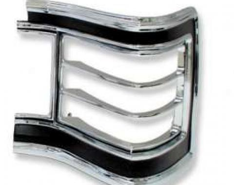 Chevelle Taillight Bezel, Right, Except Wagon, 1967