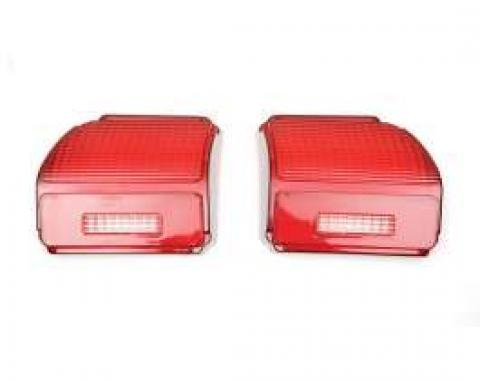 Chevelle Taillight Lenses, Except Wagon, 1969