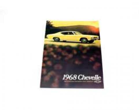 Chevelle Literature, Color Sales Brochure, 1968