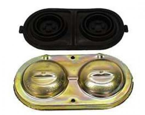 Chevelle Brake Master Cylinder Cover, Power Disc, 1967-1969