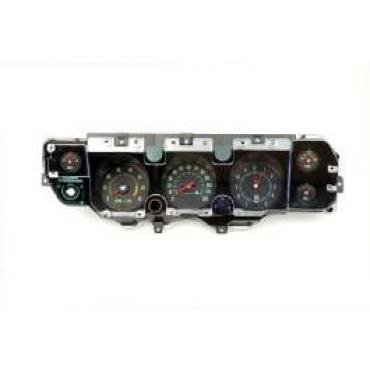 Chevelle Instrument Cluster Assembly, With 6500 RPM Redline Tachometer, Super Sport (SS), 1970