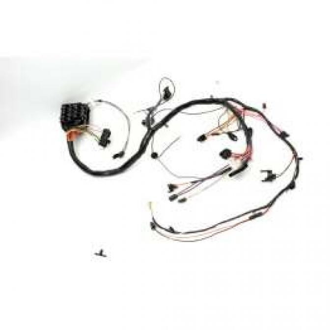 Chevelle Dash Wiring Harness, Main, For Cars With Factory Gauges, 1971