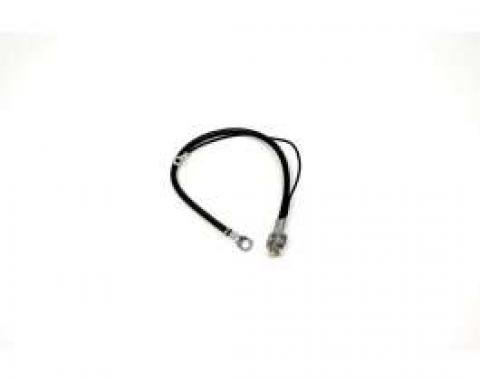 Chevelle Battery Cable, Spring Ring, Negative, 6 Cylinder, 1969-1970