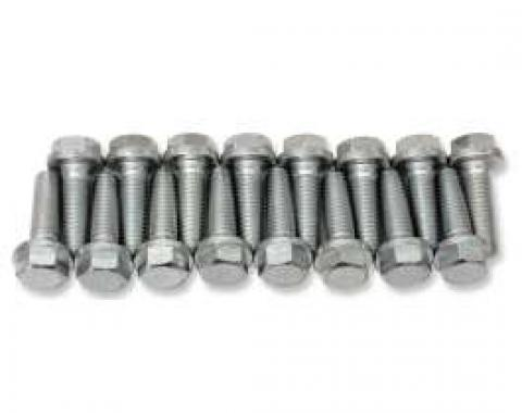 Chevelle Intake Manifold Bolts, Big Block, For Cars With Aluminum Intake Manifold, 1966-1969
