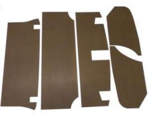 Chevelle Trunk Upholstery Panel Kit, 1/4 Tempered Hardboard, 1966-1967